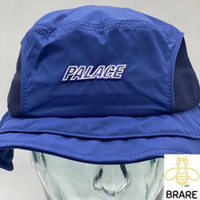 Load image into Gallery viewer, Palace Skateboards 2018 Mountain Shell Bucket Hat Navy L/XL.