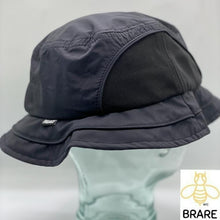 Load image into Gallery viewer, Palace Skateboards Mountain Shell Bucket Hat Black Large/XLarge.