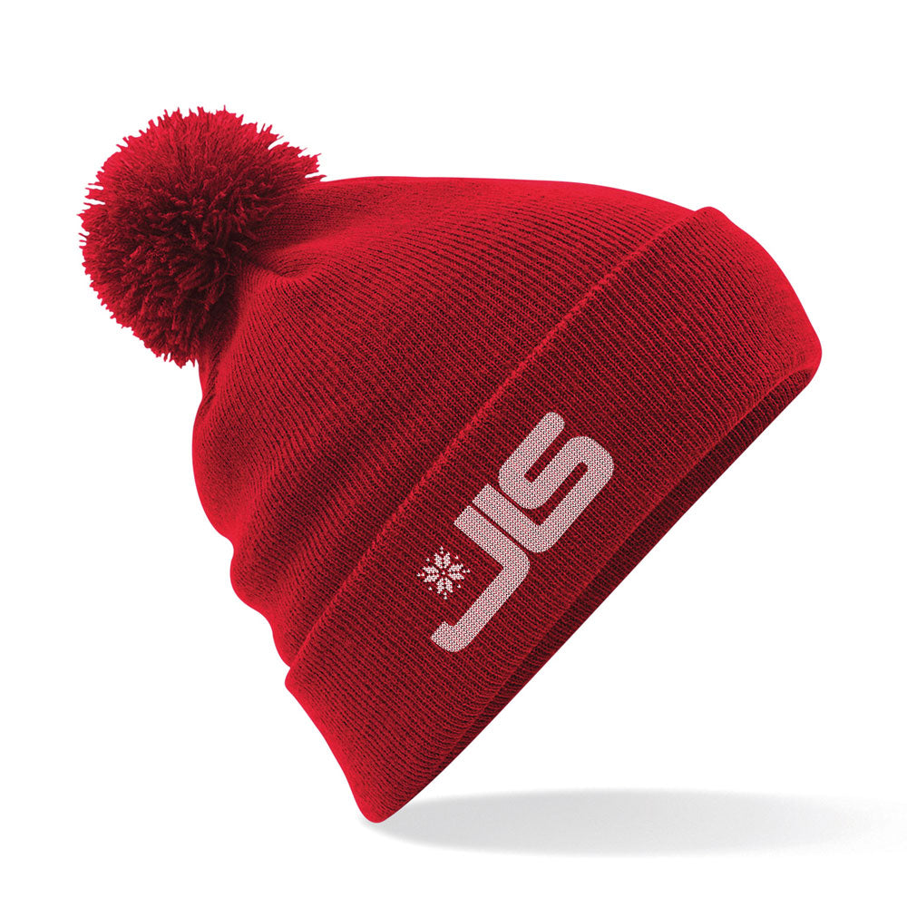 JLS logo bobble hat