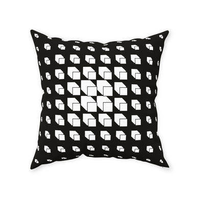 Black Throw Pillows - Daniel Dittmar