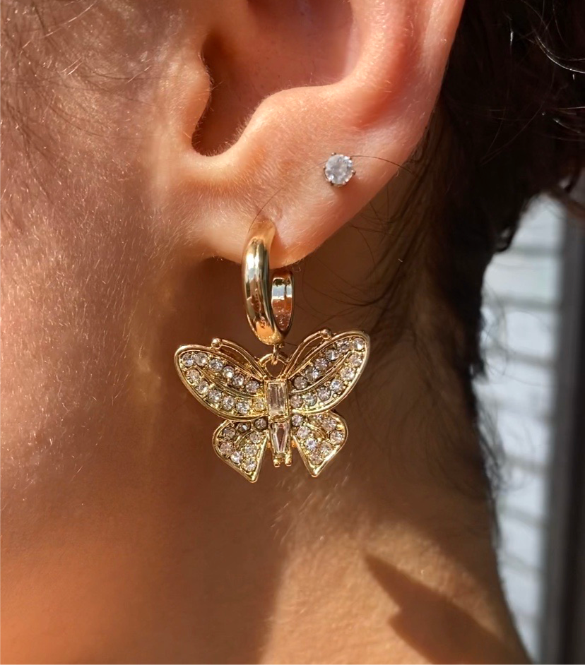 Butterfly Cuff Earrings