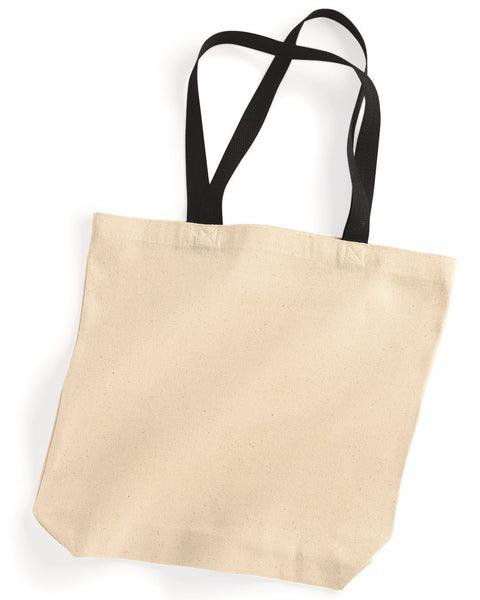 Marianne Canvas Sorority Tote Bag - Sorority Apparel