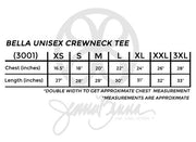 Bella Unisex Crewneck Tee - Sorority Apparel