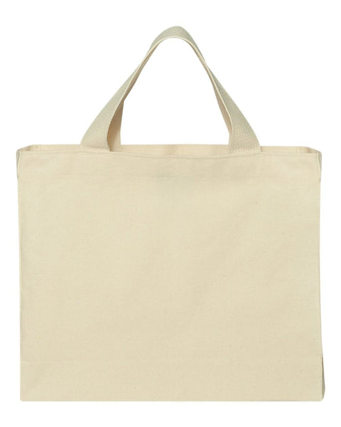 Everyday Natural Canvas Tote - Sorority Apparel