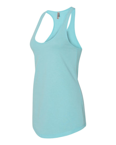 Next Level Ladies French Terry Racerback Tank Top - JennaBenna Sorority