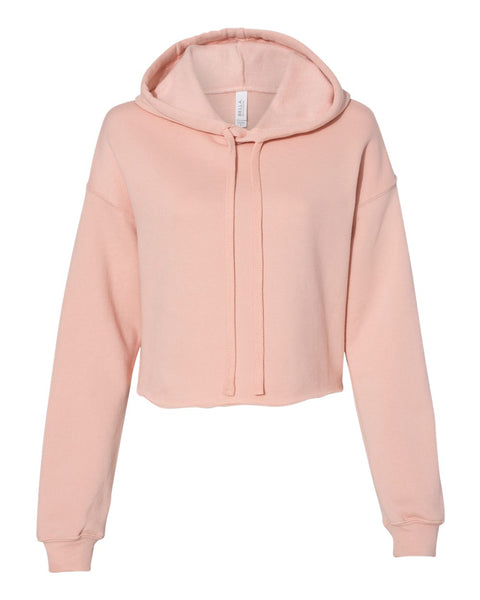Bella Ladies Fit Cropped Hoodie Sweatshirt - JennaBenna Sorority