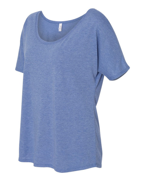 Bella Ladies Slouchy Off Shoulder Tee - Sorority Apparel
