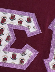 Sigma Kappa Exclusive Crest Fabric Perfect Tee - Sorority Apparel