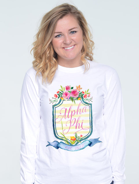 Chateau Monte Crest Sorority Printed Shirt - JennaBenna Sorority