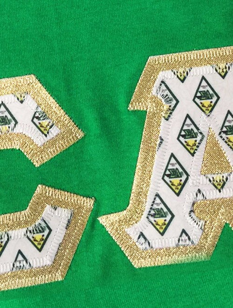 Sigma Alpha Exclusive Crest Fabric Perfect Combo Tee - JennaBenna Sorority