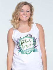Thistle Hollow Crest Sorority Printed Shirt - Sorority Apparel