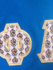 Theta Phi Alpha Exclusive Crest Fabric Tee - JennaBenna Sorority