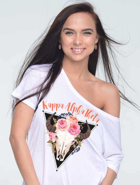 Wild By Nature Sorority Printed Shirt - JennaBenna Sorority