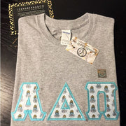 Alpha Delta Pi Exclusive Crest Perfect Combo Tee - JennaBenna Sorority