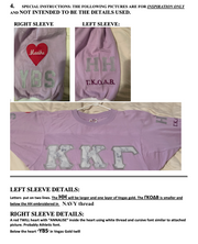 stacy - Sorority Apparel