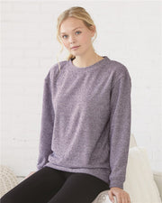 Super Cozy Fleece Relaxed Crewneck Sweatshirt - JennaBenna Sorority