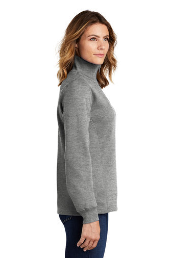 Ladies Fitted Quarter Zip Sweatshirt - JennaBenna Sorority
