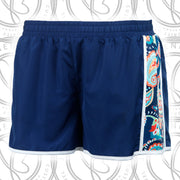 Emerson Paisley Embroidered Athletic Shorts - Sorority Apparel
