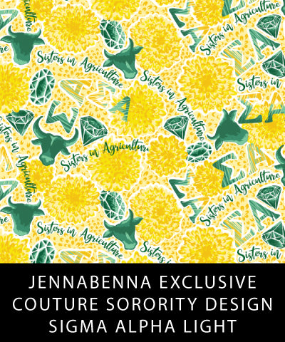 Sigma Alpha Fabric JennaBenna Exclusive Quilt Squares - Sorority Apparel
