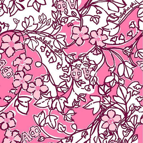 Alpha Phi Lilly Fabric - JennaBenna Sorority