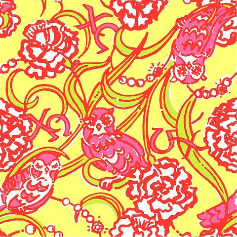 Chi Omega Lilly Fabric - Sorority Apparel