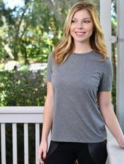 Bella Ladies Relaxed Fit Crewneck Tee - JennaBenna Sorority
