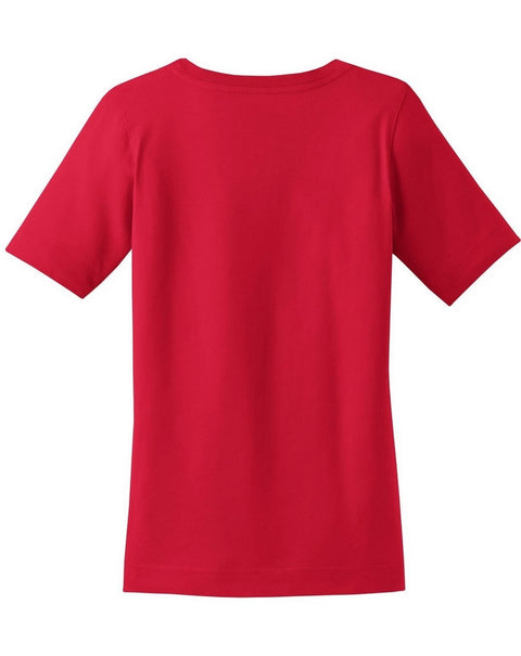 Red Port & Co Ladies Fit Scoop Tee + Kaleidoscope - JennaBenna Sorority