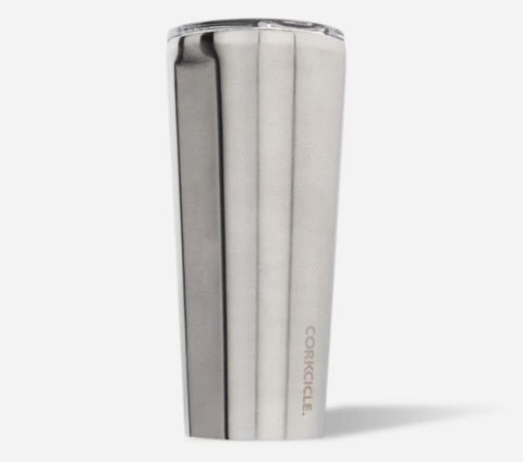 Corkcicle Tumbler Brushed Steel - Sorority Apparel