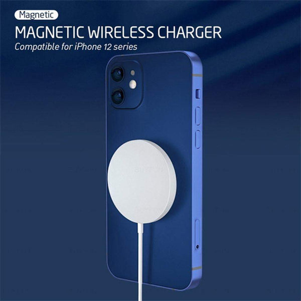 Charging & Usb 15W Magnetic Wireless Qi Charger Cable For Iphone 12 Pro12 Mini 12 Pro Max 12