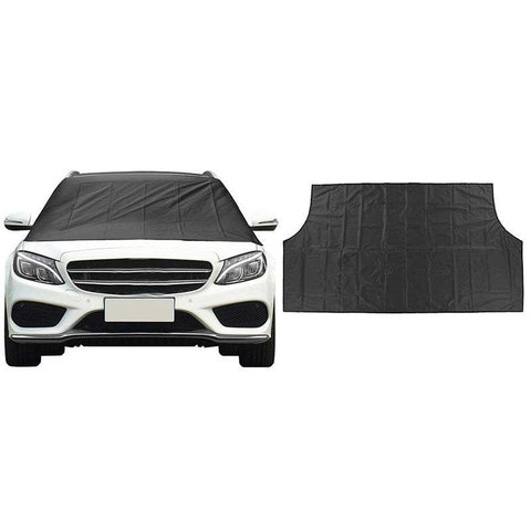 Car Sun Shades 1Pc Or 2Pcs Magnetic Windscreen Sunshade Covers Windshield Frost Ice Snow Protector