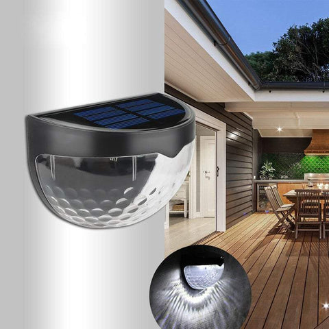 Outdoor Wall Lights 2 Solar Wall Mounted Waterproof Decorative Lights