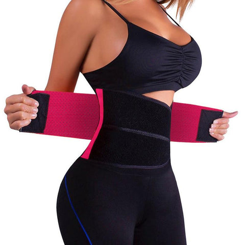 Waist Trimmer Belt Body Shaper Abdominal Trainer Weight Loss Tummy Toner