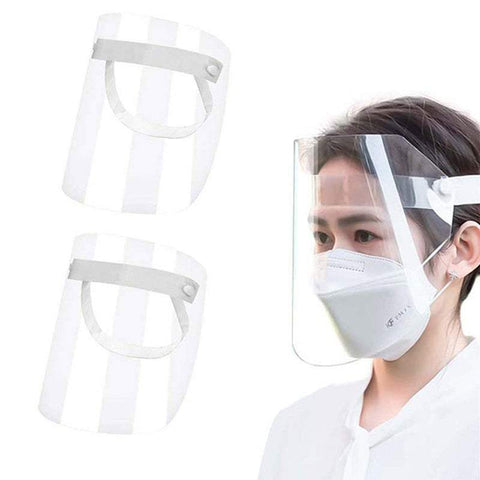 Safety Masks Reusable Transparent Plastic Face Shield Face Mask