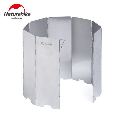 Silver Naturehike Camping Stove Windscreen Folding Screen