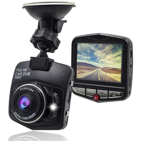 Portable Air Conditioners Car Camera Driving Recorder 1080P Screen Hidden Shield Mini Night Vision Loop Recording-Black