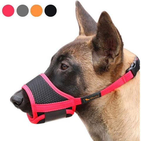 Adjustable Breathable Muzzle Mouth Cover For Pet Dogs
