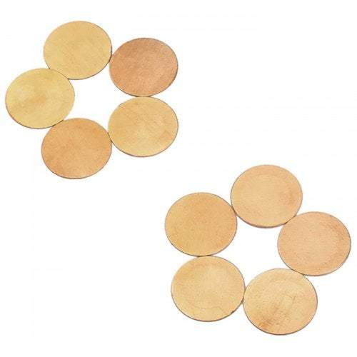 Guitar Accessories Pb05 Piezoelectric Ceramic Buzzer 10Pcs- Gold