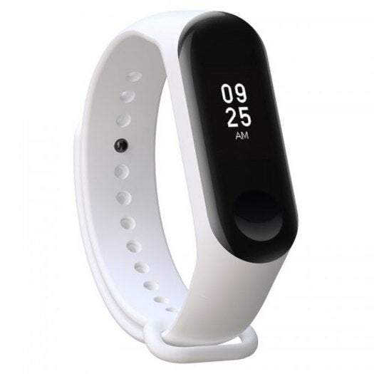 Watches Replacement Watch Strap Watchband Waterproof For Xiaomi Mi Band 3- White
