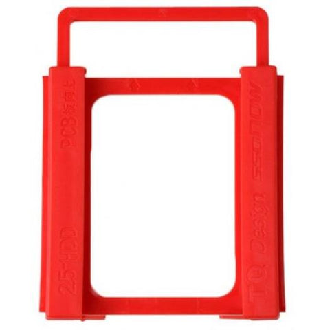 Portable External Hard Drives Spedcrd2.5 To 3.5 Inch Hard Disk Drive Mounting Bracket Adapter- Red