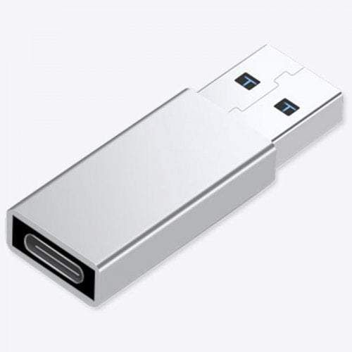 Photography Videography Type-C To Usb 3.0 Converter Adapter- Silver