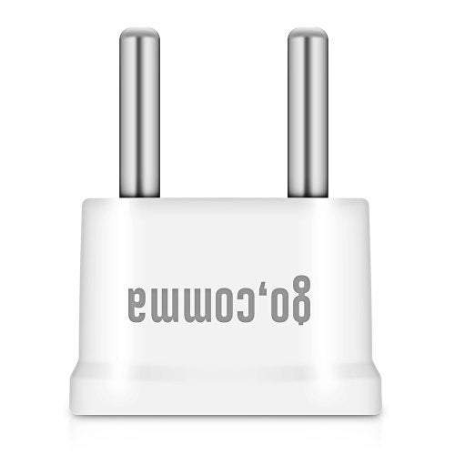 Cables Adapters Wn - 20 Us To Eu Standard Plug Type-C Power Adapter- White