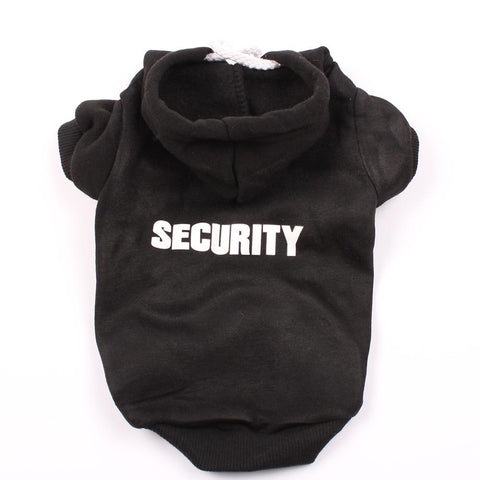 Dog Hoodie Security Design