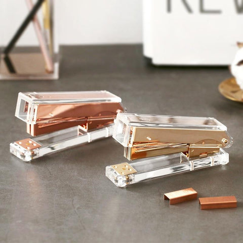 Stylish Lustre Stapler And Staples Home Office Equipment