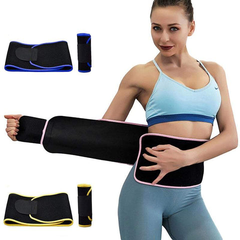 Women's Shapewear Neoprene Sweat Waist Trainer Shapewear For Men Women Body Shaper Slimming Waist