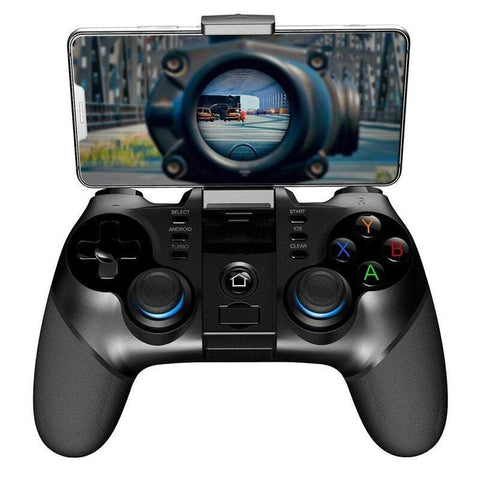 Televisions Pg-9156 3 In 1 Wireless Bt Gamepad + Joystick Holder