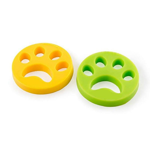 2 Pack Pet Hair Remover Dog Hair Cat Fur Laundry Removal Cleaning Tool