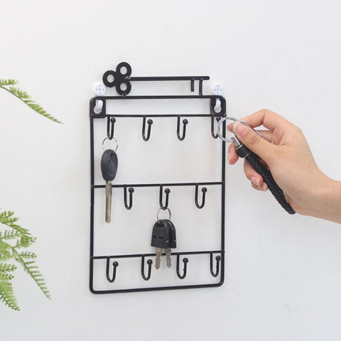 Key Rack Organiser Home Storage Organisation