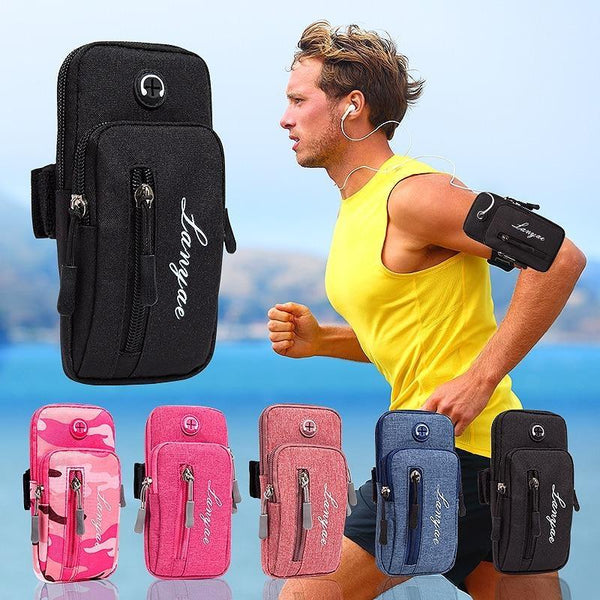 Jogging Arm Band Mobile Holder Sports Running Exercise Phone Case Cover