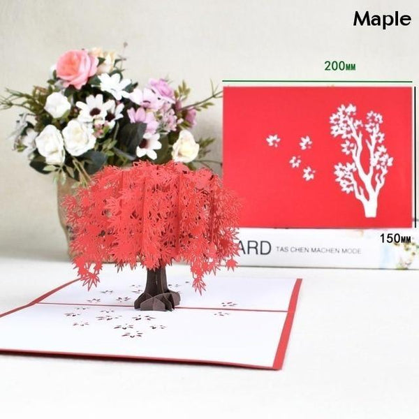 3D Pop-Up Cards Romantic Love Valentines Day Wedding Anniversary Gifts