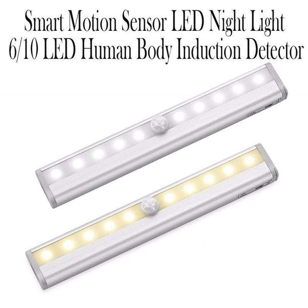 Smart Motion Sensor Led Night Light 6/10 Led Human Body Induction Detector